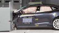 Tesla Model S im Crashtest
