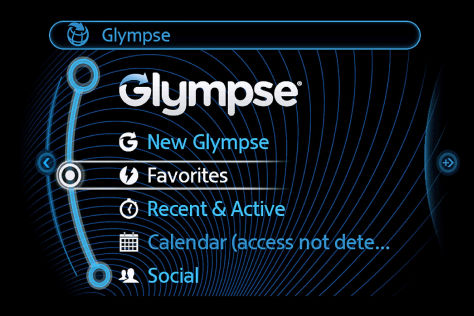 Connected App Glympse für den Mini