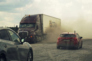 Mazda Route 3: Etappe 17