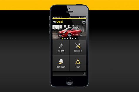 Opel App myOpel