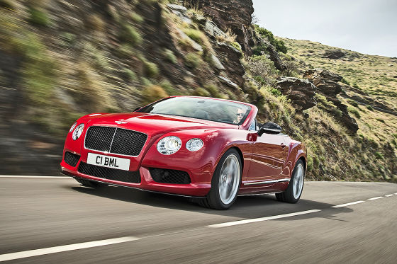Bentley Continental GT V8 S Cabrio