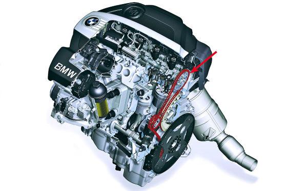 bmw steuerkette schleift bei vierzylinder dieseln
