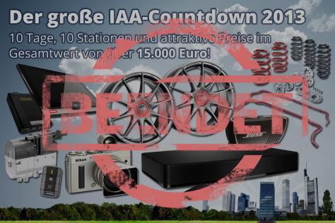 IAA-Countdown 2013
