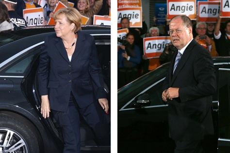Merkel gegen Seehofer