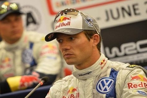 Sebastien Ogier rechnet nicht mit dem Titelgewinn in Deutschland