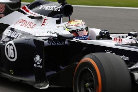 Pastor Maldonado hofft in Monza auf seinen nächsten WM-Punkt für Williams