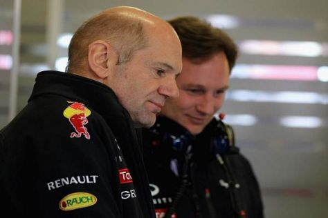 Adrian Newey und Christian Horner sahen in Daniel Ricciardo das größte Potenzial