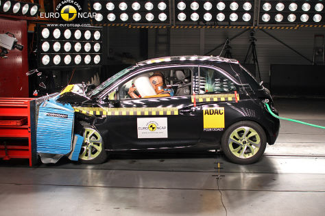 Euro NCAP Crashtest August 2013