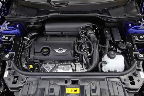 Motor im Mini Paceman