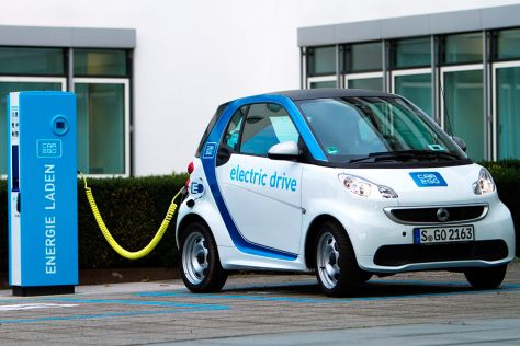 Ladestation für Car2go in Stuttgart