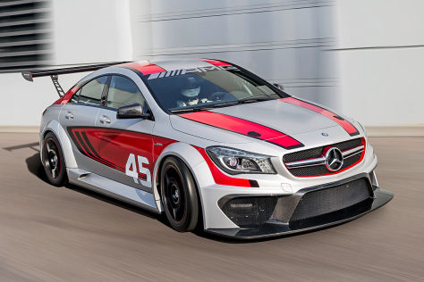 Mercedes CLA AMG 45 Racing Series
