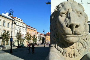 Verschnaufspause in Warschau