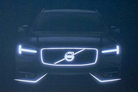 Volvo XC90 schimmernde Front