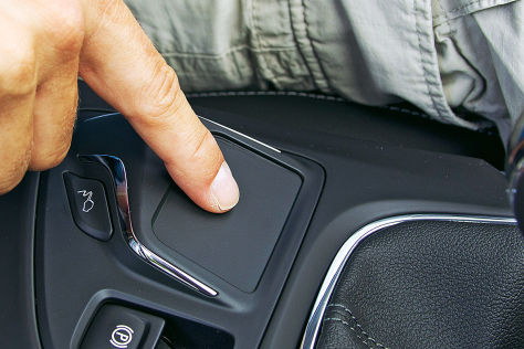Opel Insignia Touchpad