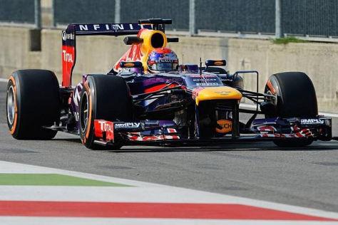 Sebastian Vettel hatte am Nachmittag die Konkurrenz in Monza im Griff