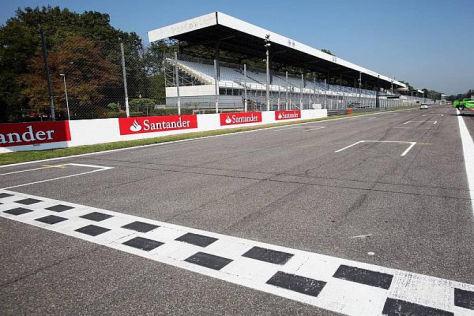 In Monza werden die höchsten Geschwindigkeiten gefahren