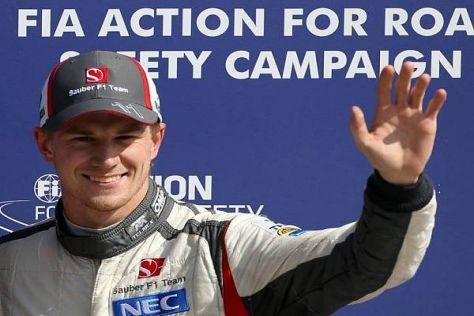 NIco Hülkenberg fuhr im Qualfying zum Italien-Grand-Prix auf Platz drei