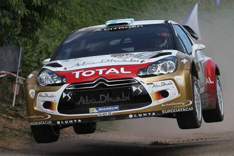 Mikko Hirvonen möchte Citroen in dieser Saison zum Herstellertitel führen