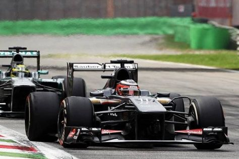Nico Hülkenberg hielt seinen Namensvetter Rosberg erfolgreich im Schach