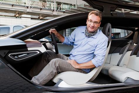 Opel Monza Concept: Sitzprobe