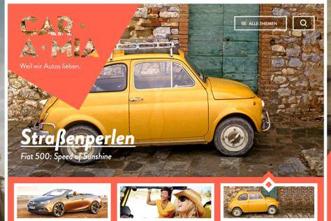 CAR.A.MIA: Automagazin für Frauen