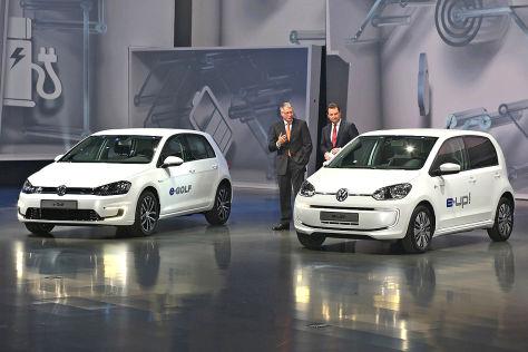IAA 2013: Volkswagen Konzernabend