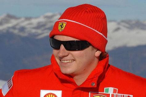 Wird Räikkönen am Mittwoch als Team- kollege von Fernando Alonso verkündet?