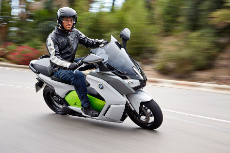 BMW C Evolution: IAA 2013