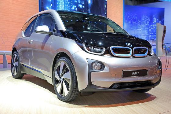 BMW i3 Elektroautos auf der IAA
