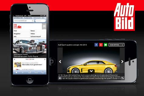 AUTO BILD Mobilportal