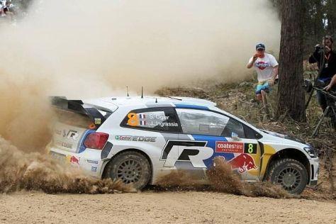 Sebastien Ogier kann sich morgen zum Rallye-Weltmeister krönen