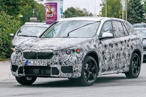 Erlkönig BMW X1 Erlkönig