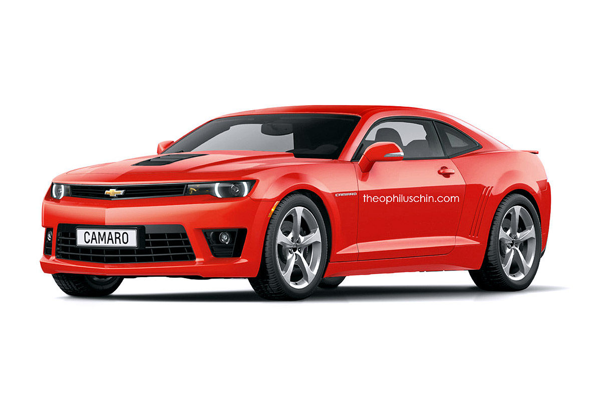 2018 Camaro Inside >> 2016 Chevrolet Camaro spied with less disguise - Page 5