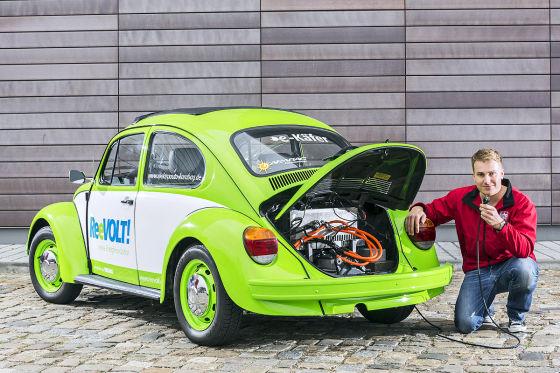 Karabag VW Käfer mit Elektro-Antrieb