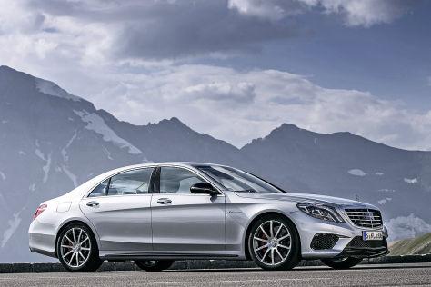 Mercedes S 63 AMG: Fahrbericht
