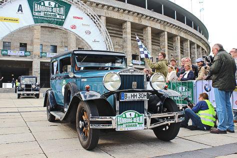 Hamburg-Berlin-Klassik 2013: Erster Rallye-Tag