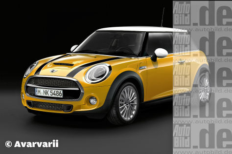 Mini Cooper S Illustration
