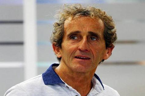 Alain Prost ahnt, dass bei Ferrari nicht alles so idyllisch bleibt wie bisher