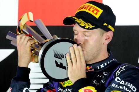 Sebastian Vettel Sieg in Singapur