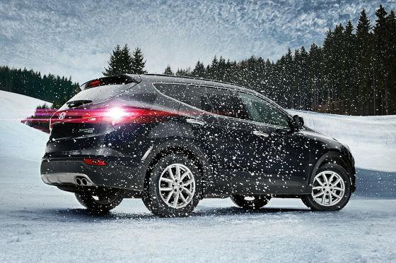 Hyundai Santa Fe mit DEZENT Felgen