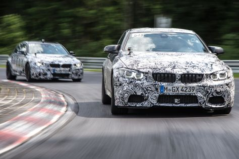 BMW M4 (2014): Erste Mitfahrt