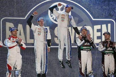 In Schweden siegte Ogier vor Loeb, der aber gewann Monte Carlo und Argentinien