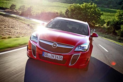 Opel Insignia OPC (2014): Fahrbericht