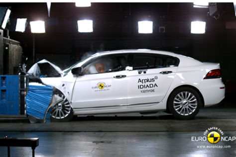 Qoros 3 Sedan: Euro NCAP Crashtest
