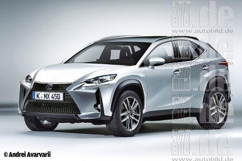 Lexus LF-NX / Lexus IS-F