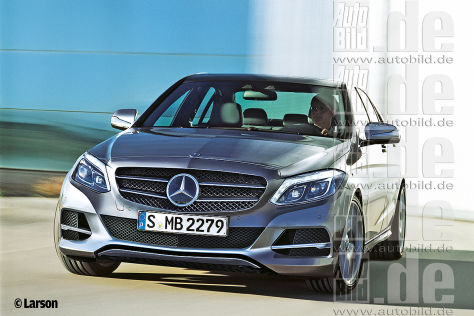 Mercedes C-Klasse Illustration