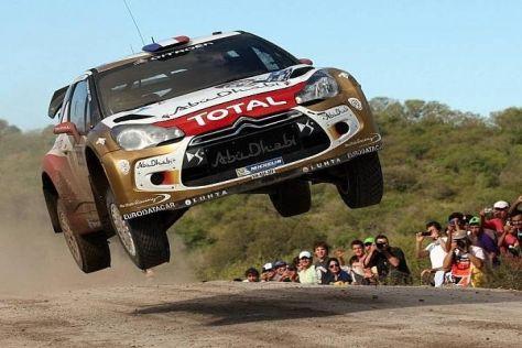 Zum letzten Mal geht Sebastien Loeb bei einer WRC-Rallye an den Start