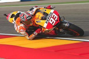 Aragon-Qualifying: Marquez knapp vor Lorenzo