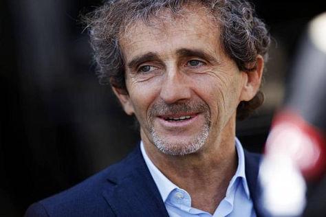 Nicht nur als Renault-Botschafter: Alain Prost ist ein Fan der neuen Turbomotoren