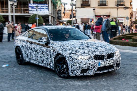 BMW M4 Erlkönig